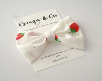 Red Strawberry Hair Clip