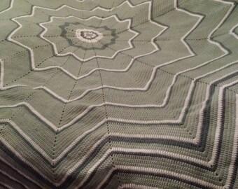 Star shaped blanket