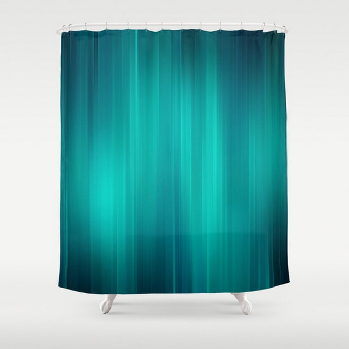 Teal Green Shower Curtain Turquoise Home Bath Room Decor Add
