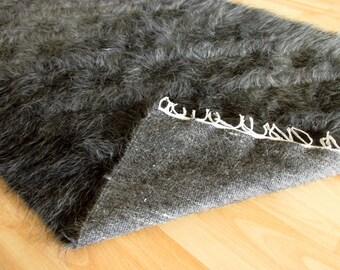Grey Mohair Rug (Angora Goat)