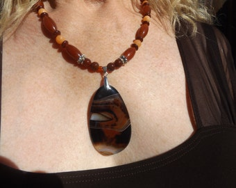 SALE - Dream Agate necklace