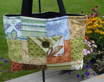 Tote Bag Quilted Purse