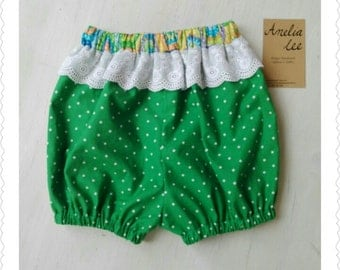Very pretty spot romper shorts