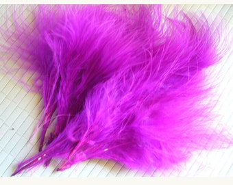 lot of 5 feather PLUME (special earrings) P102