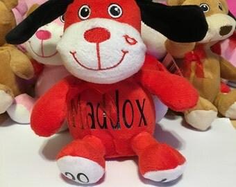 Personalized Valentine's Day Stuffed Animal , Valentine's Day Gift, Valentine's Day, Personalized Stuffed Animal, Valentine's Day,