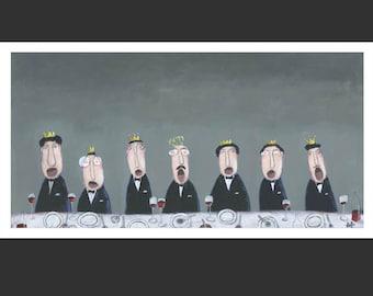 Giclee, »King's choir«