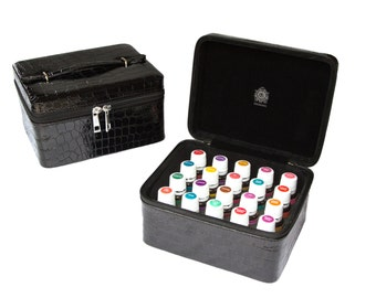 Essential Oils Carrying Case | Multiple Colors Available | Holds 20 Bottles | 5, 10 & 15 ml | FREE SHIPPING