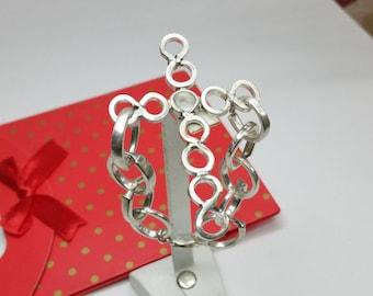 Silver Cross bracelet with cross MA105