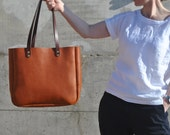 Leather Tote Bag, Italian Leather Tote, Leather Laptop Bag, Leather Purse, Leather Diaper Bag, Leather ToteLeather Shoulder Bag, Leather Bag