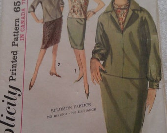 Simplicity Pattern No. 5108 Size 14