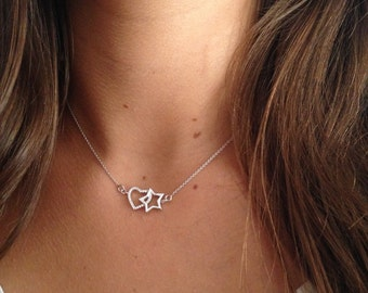 STAR HEART necklace