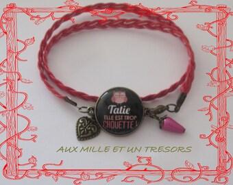 Bracelet auntie is too great.