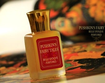 "Perfume exclusive handcrafted ""Pushkin's fairy tales"". On the basis of natural essences. Enveloping vanilla-cinnamon flavor. Thick smell"