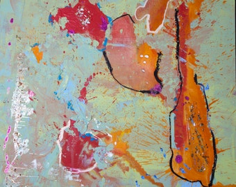 Large Original Abstract Painting, Contemporary Art