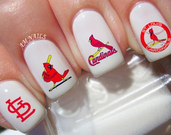 St Louis Cardinals Nail Decals