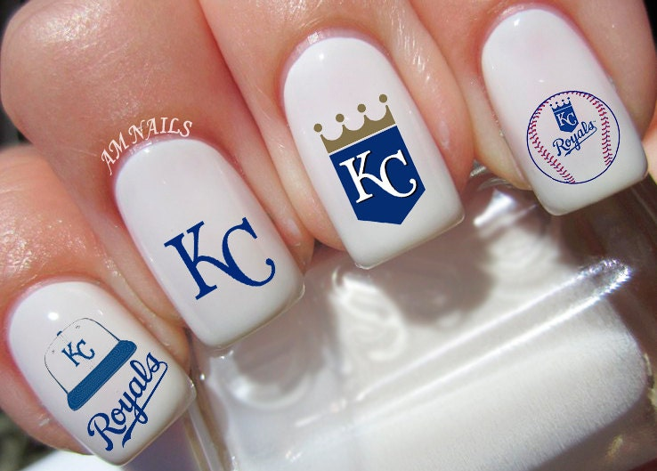 Kc Royals Nail Tattoos