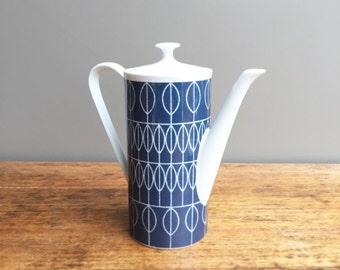 Teapot art deco, vintage, tea - pot, retro 50's