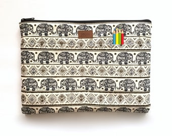 Dell Laptop Case, Dell XPS 13, MacBook Pro Sleeve 13,MacBook Sleeve 13,13 Inch laptop Sleeve,Laptop Cases,Laptop Sleeves - Paisley Elephant