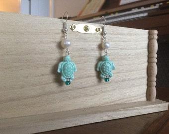 Sea Dangle Earrings