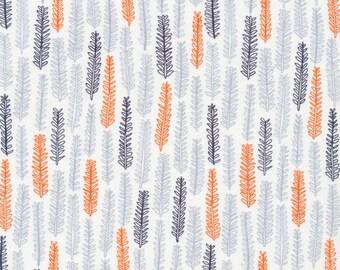 Little Forest Grey   Organic Cotton   Cloud9 Fabrics   1 Yard