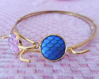 Mermaid inspired bracelet