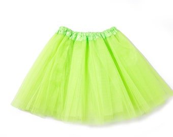 Junior Young Adult Teen Triple Layer Tutu Skirt - Style 4396