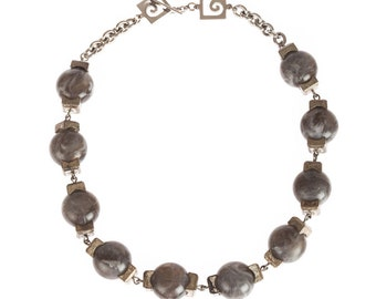 Pierre Cardin Cubist Modernist Necklace