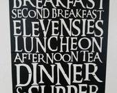 The Hobbit Diet Decal