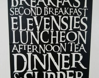 The Hobbit Diet Decal