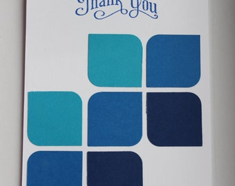 Handmade Thank You Card - Stampin Up