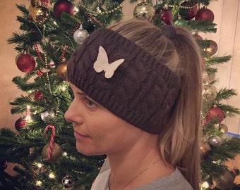 Knit Headband, Ear Warmer, Knitted Headband, Winter Headband, Crochet Headband, Cable Headband, Chunky Headband, Headband, Gift For Her