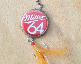 Gift Package - Miller 64 Beer Bottle Cap Fishing Lure Package for Father's Day!