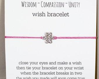 Eternal Knot Wish Bracelet