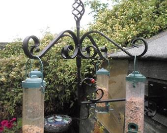 Wrought Iron (Forged Steel) Bird Feeder