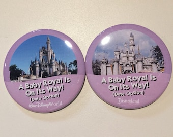 A Baby Royal Is On Its Way Celebration Button
