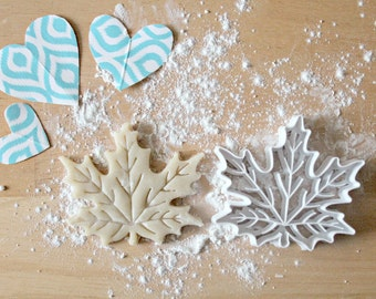 Fall Leaf 3D Printed Cookie Cutter