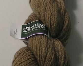 80/20 Wool/Mohair Yarn Natural Tan