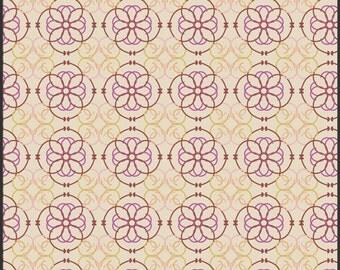 8.99 Yard - Art Gallery Bazaar Mosaic Cream  BA - 408 Bazaar Style -  Premium Cotton - FBTY