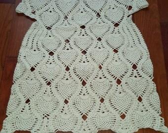 Beach crochet dress