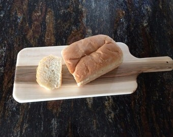 Maple Bread Board 21 x 7-1/2. Wedding Gift, Bridal Gift, Housewarming Gift, Anniversary Gift.