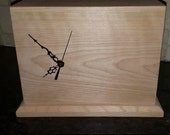 Handmade Custom Order Wood Clock