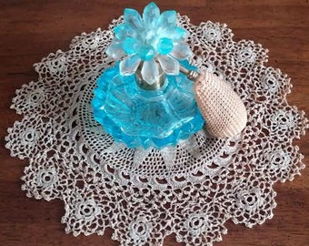 Smaller Vintage Doily Crocheted by Hand