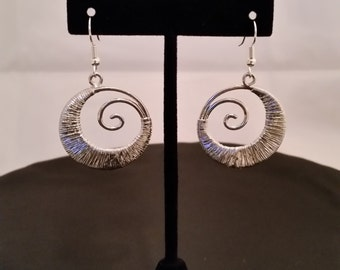 Swish Swirl Dangle Earrings