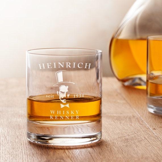 personalisiertes whiskyglas mit gravur gentleman klassisch. Black Bedroom Furniture Sets. Home Design Ideas
