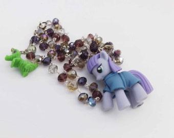 My Little Pony Maud Pie Kawaii Crystal Necklace Pony Cosplay jewelry
