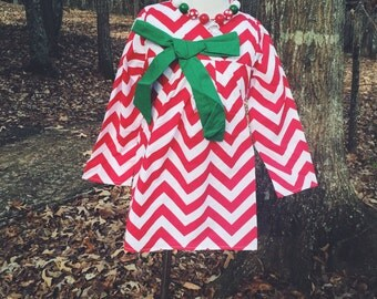 Chevron Christmas Dress!