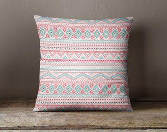 Aztec Pillow Etsy