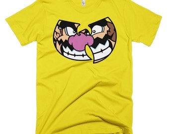 Men's Wario/Wu-Tang Clan T-Shirt - Wurio's World