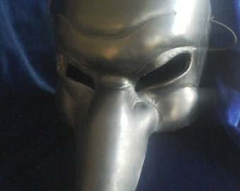 thick leather Venice style mask