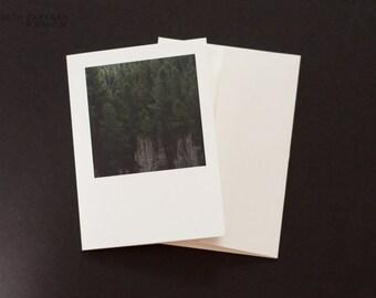 Photo greeting card: Lush green landscape
